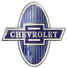 Chevrolet Chevy Radiator Grille Shield Emblem 1929-1931 Car & 1929-1932 Truck