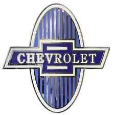 Chevrolet Chevy Radiator Grille Shield Emblem 1929-1931 Car & 1929-1932 Truck