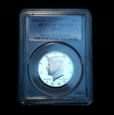 1993 S Kennedy Half Dollar Silver Proof PCGS PR70 Deep Cameo Mint Proof