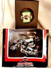 Vintage Harley Davidson  Motorcycle and  Christmas Tree Ornament-(#2)