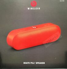 Genuine Beats by Dr Dre Pill + Bluetooth Speaker  Red ( New Stock )