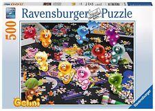RAVENSBURGER PUZZLE*500 TEILE*GELINI BEIM PUZZLEN*NEU+OVP