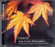 RICHARD STRAUSS: SONGS & ARIAS + METAMORPHOSEN - NEW BBC CD / CHRISTINE BREWER