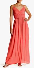 WEST KEI Gauze Maxi Dress Coral S NWT $70