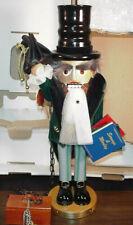 "GERMAN STEINBACH NUTCRACKER S1819 A CHRISTMAS CAROL MARLEY'S GHOST 18 "" ORG. BOX"