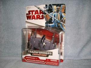 Magnaguard Starfighter Transformers Crossovers Star Wars Hasbro 2009 New Sealed