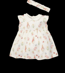 Beatrix Potter Jemima Puddle Duck And Flopsy Bunny Dress With Head Band