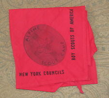 Alpine Scout Camp (NY) Neckerchief  BSA  Prototype