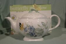 NEW IN BOX - LENOX ~ BUTTERFLY MEADOW TEAPOT  - MSRP $115