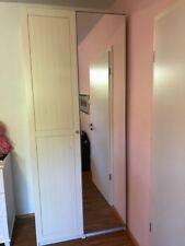 PAX Kleiderschrank, IKEA, weiß mit Spiegel