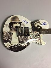 Cheech And Chong Hand Signed Licensed Signature Model Guitar Rare EXACT PROOF