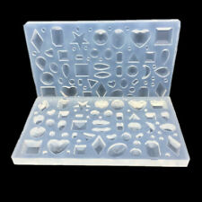 Polymer Clay Silicone Molds UV Epoxy Resin Mould For Pendant Jewelry DIY Making