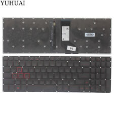 For Acer Nitro AN515-51 AN515-52 AN515-53 N16C7 laptop Keyboard US RED backlit