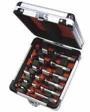 Faithfull 6 Piece 120mm Stubby Short Wood Auger Drill Bit Set,10-25mm FAICASSET6