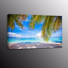 Beach Landscape Canvas Picture Print Poster Wall Art Painting Home Decor-NoFrame