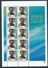 AUSTRALIE 2000 JEUX OLYMPIQUES GAGNANTS ENSEMBLE DE 16 FICHES