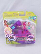 Polly Pocket Party Limo Micro Playset  new Pollyville