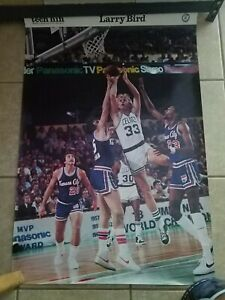 1980 RA Productions Larry Bird Rookie Year Vintage Poster Boston Celtics 24 x 36