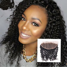Malaysian Virgin Human Hair 13x4 Lace Frontal Closure Ear to Ear Curly