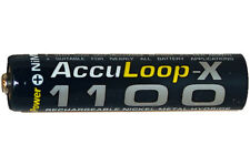 16-Pack AAA 1100 mAh NiMH  AccuLoop-X Rechargeable Low Discharge Batteries