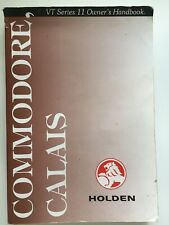 Holden VT Series 2 II Commodore Calais Owners Manual Handbook