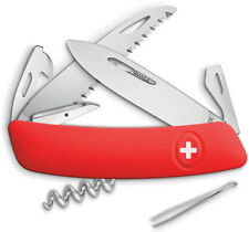 Swiza Knives D05 Swiss Button Lock Red KNI.0050.1000