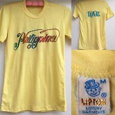 VTG  LIPTON Luxury Garments T-Shirt Philippines (rainbow) RONIE Size M 70s