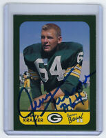 PACKERS Jerry Kramer signed card SB II Anniv Super Bowl AUTO Autograph Green Bay