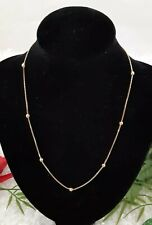 Gold 750  Karat Gold Necklace  18 inches..6.85 grams