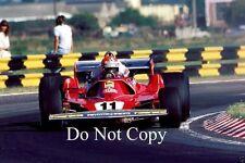 Niki Lauda Ferrari 312 T2 1 fotografía argentino Grand Prix 1977