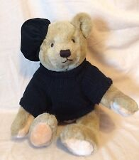 Gund - Bialosky Teddy Bear - Teddy With Black Sweater And Hat
