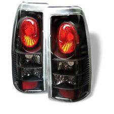Tail Lights Chevy Silverado 1500 2500 1999-2002 Fleetside Altezza - Black