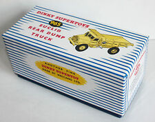 DINKY Reproduction Box 965 Euclid Rear Dump Truck