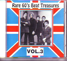 V.A. - RARE 60's BEAT TREASURES Volume 3 CD