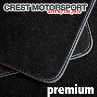 PEUGEOT 206CC PREMIUM Tailored Black Car Floor Mats