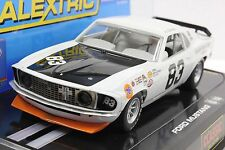 SCALEXTRIC C2890 71' MUSTANG NEW 1/32 SLOT CAR IN DISPLAY CASE