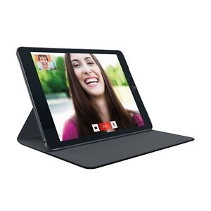 LOGITECH HINGE FOLIO CASE FOR IPAD AIR 2 WITH ANY ANGLE STAND BLACK 939-001395