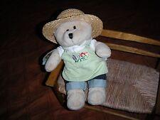 Starbucks Coffee Company Stuffed 2006 Gardening Bear Plush Boys & Girls 3 and Up