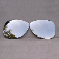 Silver Mirrored Replacement Lenses for-Oakley Dispatch 2 Polarized