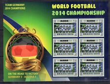 Liberia - Football Cup in Brazil - 2014 - Algeria team on stamps MNH**B305