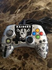 NFL Oakland Raiders Xbox 360 Wired Controller Official NFL By MadCatz