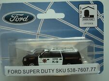 RIVER POINT  FORD  EXPEDITION  EL  SSP SUV  SHERIFF K-9   1/87 HO  PLASTIC CAR