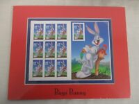 US POSTAGE STAMPS BUGS BUNNY MATTED PANE ~ SEALED, MINT