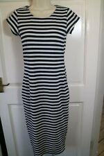 ♡  Ax Paris Striped Bodycon Dress Size 10  ♡