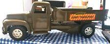 Buddy L - Army Transport Truck 1950's Vg Condition.Pressed Steel Trucks