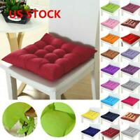 1/2PCS Chair Cushion Seat Pads Dining Room Kitchen Office Soft Patio Pillow Pad