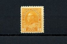 Canada #105 (CA241) King George V 1c orange yellow, MNH, FFVF, CV$60.00