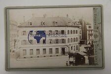 original selten CDV Foto Strassburg Elsaß Lothring  1880