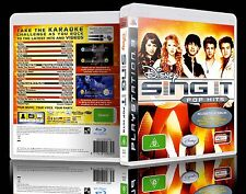 (PS3) Disney Sing It: Pop Hits (G) (Music / Singing) Guaranteed, Tested