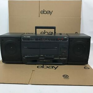 PC-Y555 JVC Boom Box Portable Component System Fully Functioning 2.B4